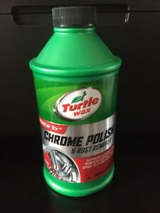 Turtle Wax Chrome Polish Rust Remover 12 Oz T 280ra Fast Ship C6