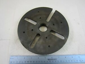 Craftsman 8 Slotted Lathe Face Plate 1 1 2 X 8 Tpi 25238 103 Atlas South Bend