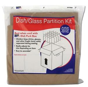 Dish glass Partition Kit Includes 8 Large Partitions 12 Small Partitio Only One