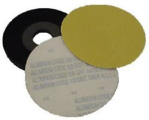 9 X 100 Grit Drywall Sander No Hole 9 Velour Backed Sanding Disc Only One