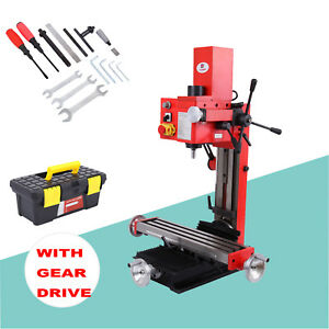 Mini Milling Drilling Machine With Gear Drive Precision 550w Variable Speed Mt3