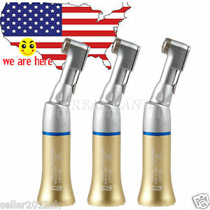 3pcs Dental Low Speed Handpiece Latch Contra Angle Fit Nsk Motor Ybb g Sale