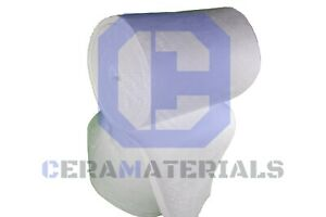 Ceramic Fiber Insulation Blanket 2300 8 Thermal Ceramics 1 x24 x5 free Ship