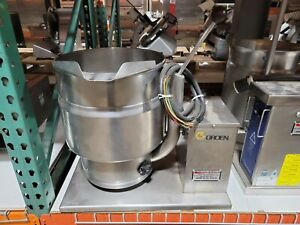 Groen Tdb 7 20 Commercial 20 Qt Tilt Steam Kettle 208v 3 Phase