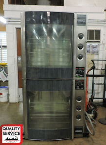 Hobart Hr7p Commercial Electric Double Chicken Rotisserie Oven