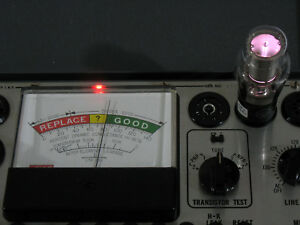 Eico 666 Tube Tester Outstanding Condition Original Updated Docs Box Aok