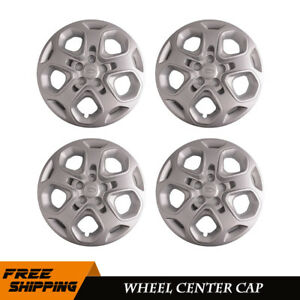 4x For 2010 2011 2012 Ford Fusion 17 Wheel Covers Rim Hub Cap 5 Spoke Full Hubs