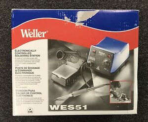 Weller Wes51 Electronically Controlled Soldering Station New In The Box