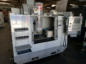 2005 Haas Vf 2ss Full 4 axis Cnc Vertical Machining Center W Hrt 210 Rotary Tbl