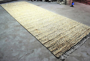 Moroccan Rug Runner 6 X18 Hand Knotted Runner Rug Home Decor Hallway Wool Rug