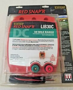 Red Snap r Electric Fence Controller 30 Mile Lib30c Zareba New 2003