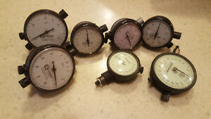 Vintage Standard Gage Co Federal Hanlo Dial Indicator 001 0001