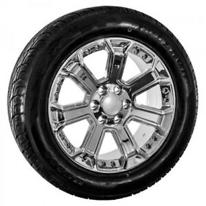20 Inch Gmc Chrome Wheel Tires Package 089