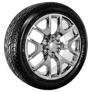 20 Inch Chrome Gmc Truck Wheel Tires