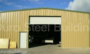 Durobeam Steel 50x80x16 Metal Building Workshop Structure as Seen On Tv Direct