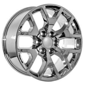 20 Inch Gmc Truck Yukon Denali Sierra Chrome Wheels