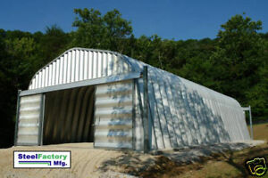 Steel 30x40x14 Metal Garage General Storage Building Manufacturer Clearance Sale