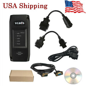 Usa Ship Vcads Pro V2 40 Truck Auto Programmer Diagnostic With Multi languages