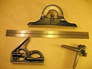 Union 12 Inch Combination Square See Pictures For More Inf
