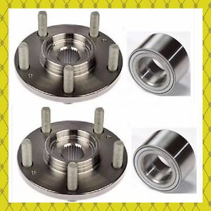 Front Wheel Hub Bearing For 2012 2018 Ford Focus C max 2013 2018 Pair