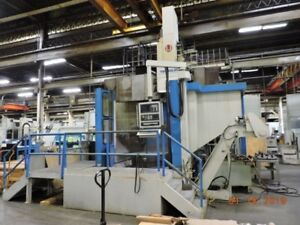 Cnc Vertical Turret Lathe Atc 15 Tl Gringing Hd Tos 1998 4 Jaw Hyd 55 dia 70 H
