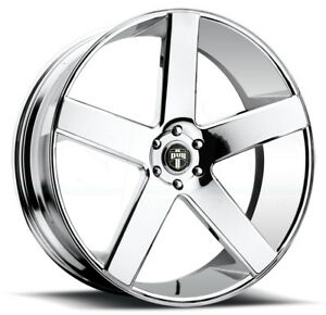 1 New 30 Dub Baller S115 Wheel 30x10 6x5 5 6x139 7 30 Chrome Rim