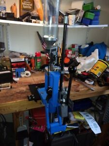Dillon 550B Reloading Press with extra parts