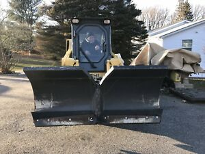 Bobcat 72 V Snow Plow Blade Attachment Bobcat Skid Steer Loader 6 Wing