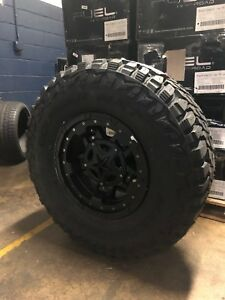 17x9 Xd827 Rockstar 3 35 Mxt Mt Wheel And Tire Package 8x6 5 Dodge Ram 2500