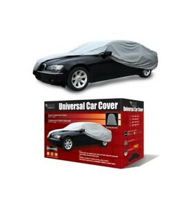 Bdk Universal Fit Car Cover Gray Large