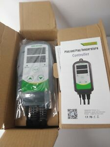 Inkbird Digital Temperature Controller 110v Thermostat Reptiles Heat Cool Switch