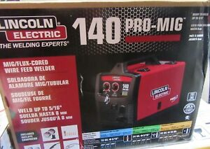 Lincoln Electric K2480 1 140 Pro mig Flux cored Wire Feed Welder