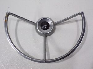 67 68 69 Ford F100 F250 F350 3spoke Steering Wheel Horn Button Ring C8ta 13a800f