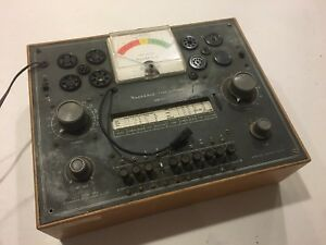 Vintage Heathkit Tube Checker Model Tc 2 Tester Untested
