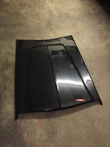 1964 1965 Dodge Plymouth 426 Race Hemi Hood Scoop New Tooling Molded In Black