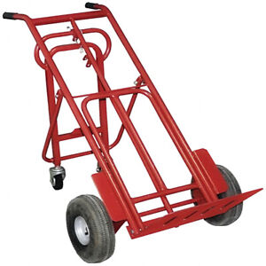 Folding Dolly Hand Truck 400 Lbs Capacity Convertible Trolley Utility Push Cart
