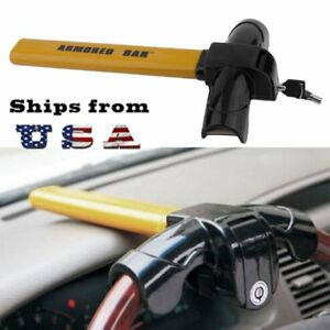 Universal Steering Wheel Lock Anti Theft Security Auto Tool For Car Truck Suv Ma