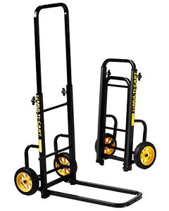 Folding Dolly Hand Truck 200 Lbs Capacity Convertible Trolley Utility Push Cart