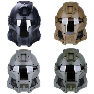 New Tactical Retro Medieval Iron Warrior Motorcycle Airsoft Helmet Mask Outdoor $95.99