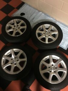 Mint Condition 16 Hfp Wheels W Michelin Tires