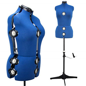 13 Dials Adjustable Mannequin Dress Form Large