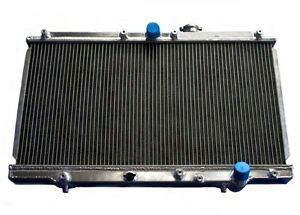 2 Row Performance Aluminum Radiator For Honda Prelude 1997 2001 Mt New