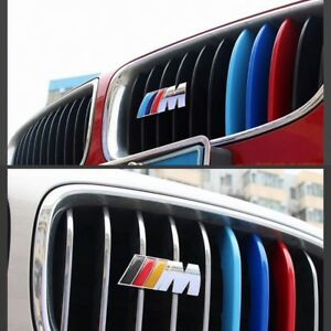 Car Metal Bmw M 3d Performance Front Grille Emblem Chrome 3d Badge Replacement