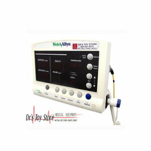 Welch Allyn 52000 Vital Signs Patient Monitor W Suretemp Spo2 Nibp