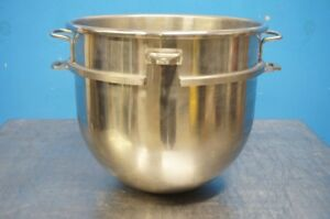 New Hobart 30 Qt Stainless Steel Mixer Bowl Original Part