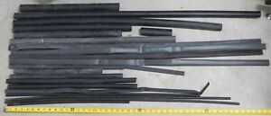 Large Lot Various Sized Black Heat Shrink Tube Pipe Harness 1 1 2 To 5 16 Eh