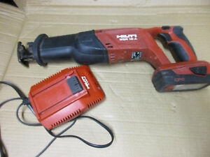 Hilti Wsr 18 a Reciprocating Saw W 2 6 Battery Charger