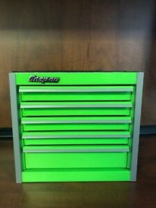 New Snap on 5 drawer Micro Roll Cab Extreme Green