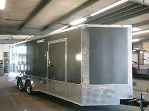 New 8 5x24 Race Track Car Hauler