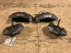 Bmw 135i E82 Brembo Front Rear Brake Caliper Set Driver Passenger 08 09 10 11 12